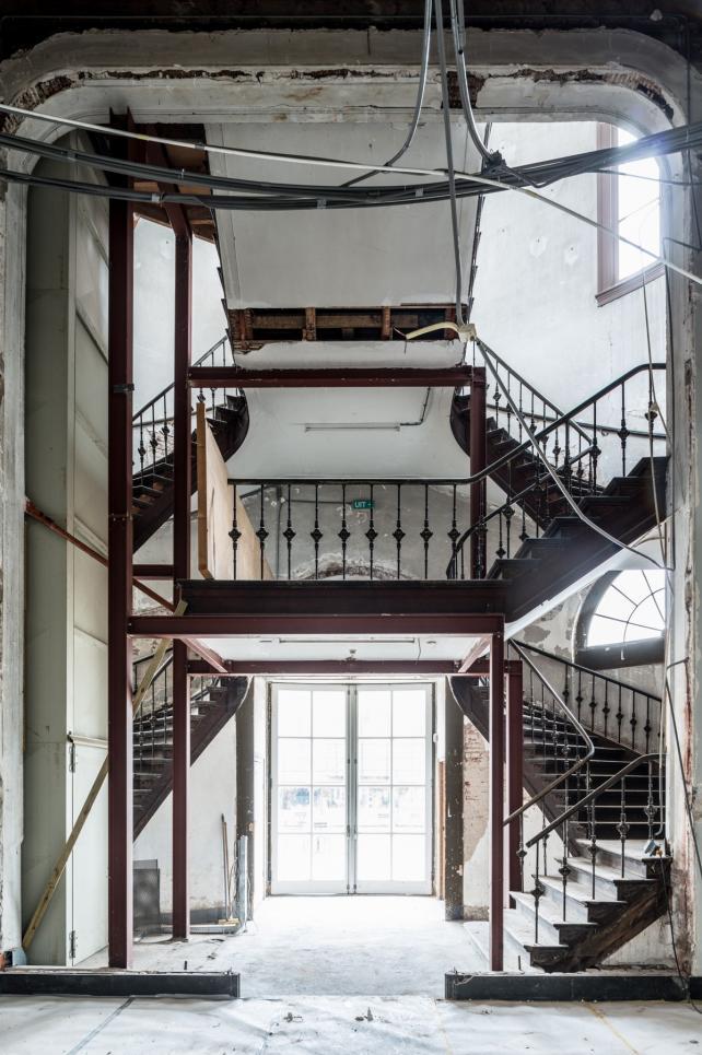 Artis binnen Groote Museum Infra project